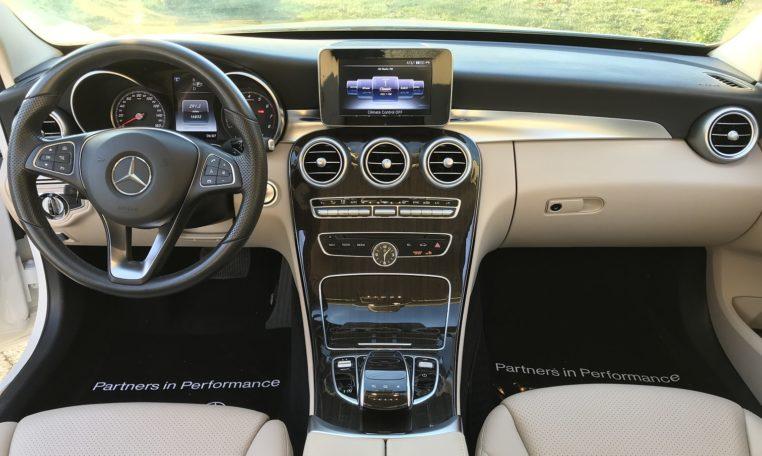 Mercedes C300 Interior