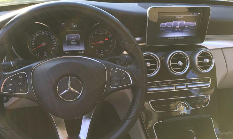 Mercedes C300 Steering Wheel