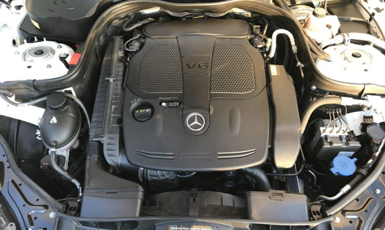 Mercedes E350 Engine